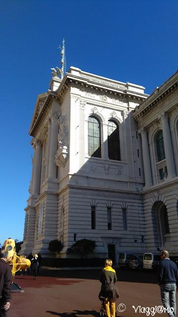 Museo Oceanografico, facciata