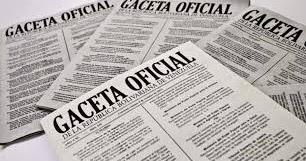 Descargar en PDF Gaceta Oficial Nº 41751 del 1 de ...