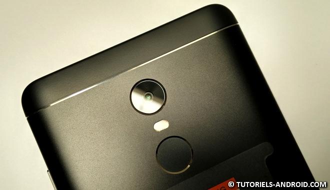 Face arrière Redmi Note 4X