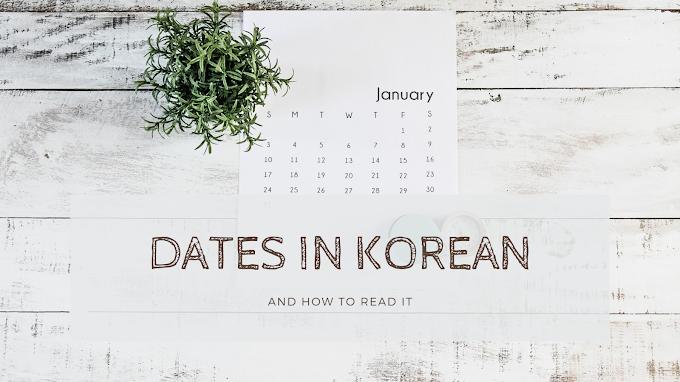Cara Membaca Tanggal dalam Bahasa Korea