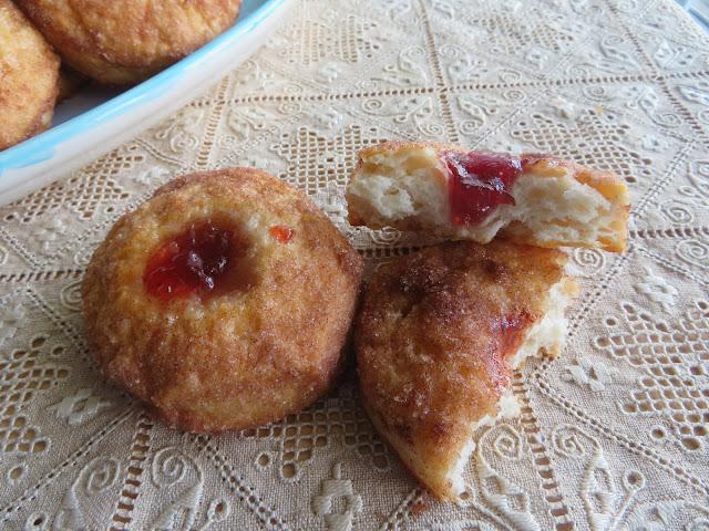 Cinnamon  & Jam Biscuits