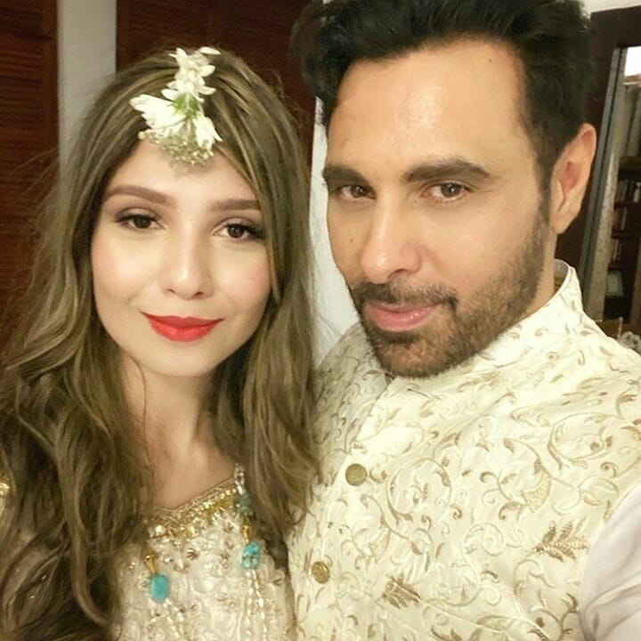 Haroon celebrates Birthday of his wife Farwa