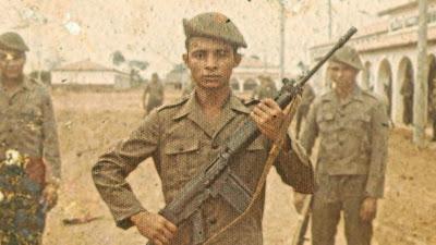 Recrutas do Exército Brasileiro na década de 1970 - Divulgação