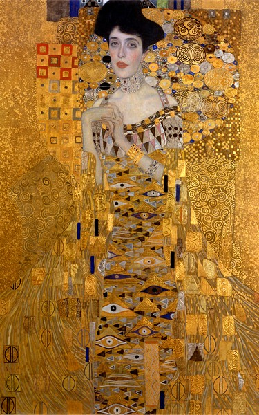 "Gustav Klimt - ""Retrato de Adele Bloch Bauer I"