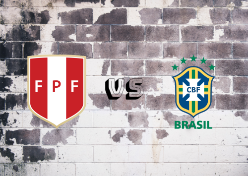 Perú vs Brasil  Resumen y Partido Completo