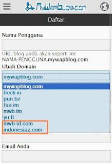 sub domain mwb mywapblog.com