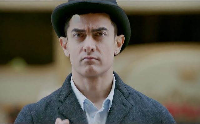 Aamir Khan Latest Images In Dhoom 3 Movie