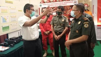 Gubernur Irwan Prayitno: Sengaja Bakar Lahan, Izin Perusahaan Dicabut