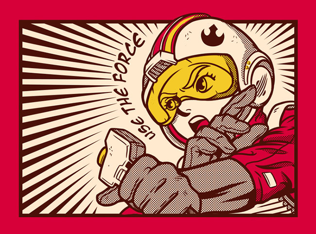 MeleeNinja aka Adam Works - Asian Star Wars Art on YellowMenace.net