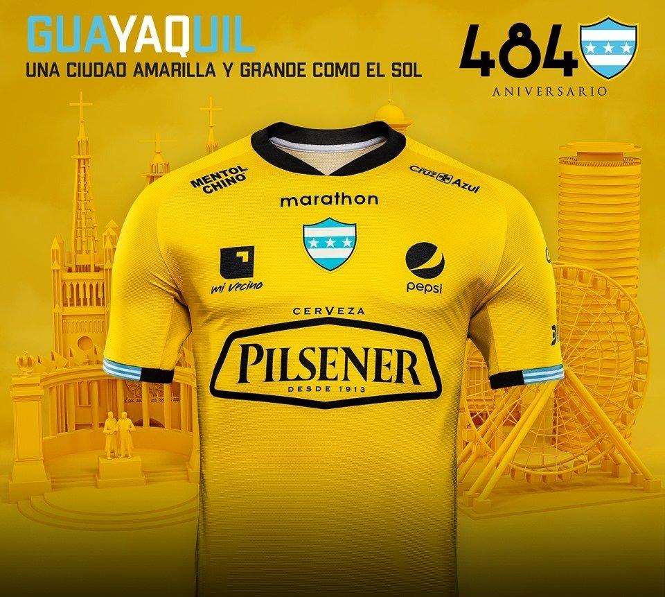5aa3fda5c12bb Marathon lança camisa comemorativa do Barcelona de Guayaquil - Show ...