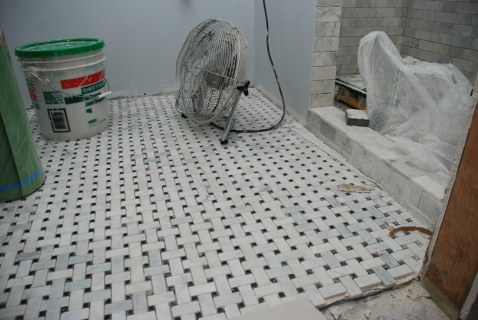 Designing A Basket Weave Tile Floor Home Garden Ideas