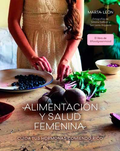Portada libro Alimentación y salud femenina
