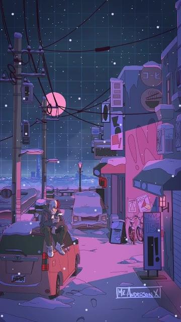 hình nền điện thoại phong cảnh buồn