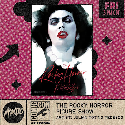 San Diego Comic-Con 2021 Exclusive The Rocky Horror Picture Show Screen Print by Julian Totino Tedesco x Mondo