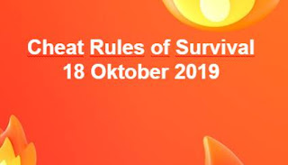 Link Download File Cheats Rules of Survival 18 Oktober 2019