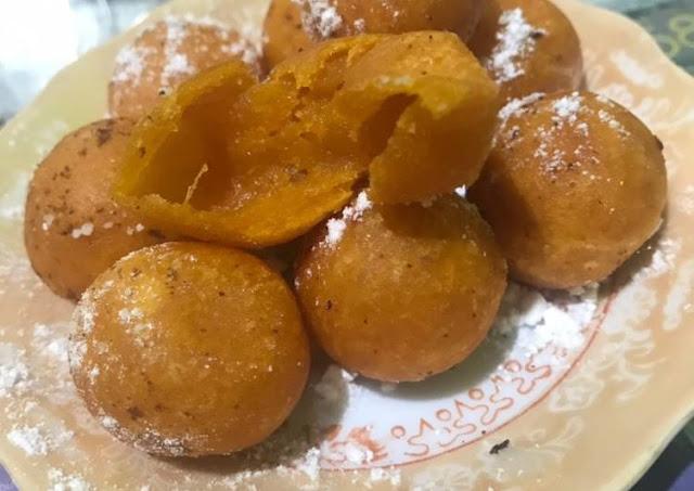 Resep bola ubi kepong enak dan renyah