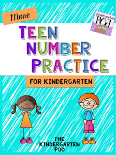 https://www.teacherspayteachers.com/Product/MORE-Teen-Number-Practice-2370528