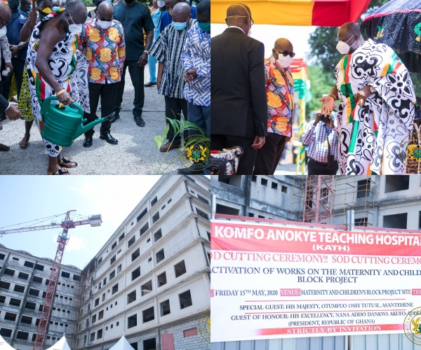 """44-Year-Old Kath Maternity And Children's Block Will Be Completed In 36 Months"" – President Akufo-Addo"