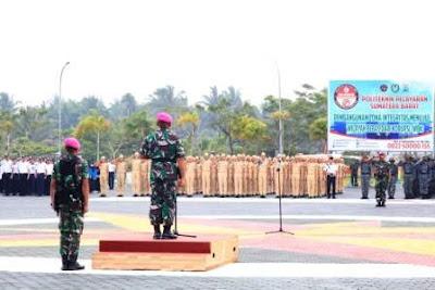 Dibina TNI AL, Catar Poltekpel Sumbar Selesai  Madatukar Di Kampus