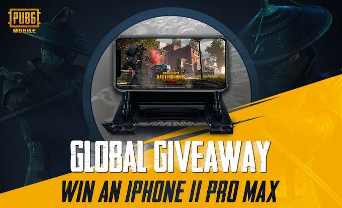 Sorteio de x5 iPhones 11 Pro Max!!
