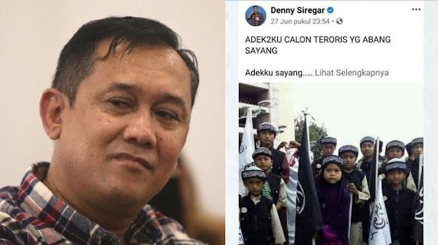 Kasus Denny Siregar Bakal Berakhir dengan Minta Maaf?