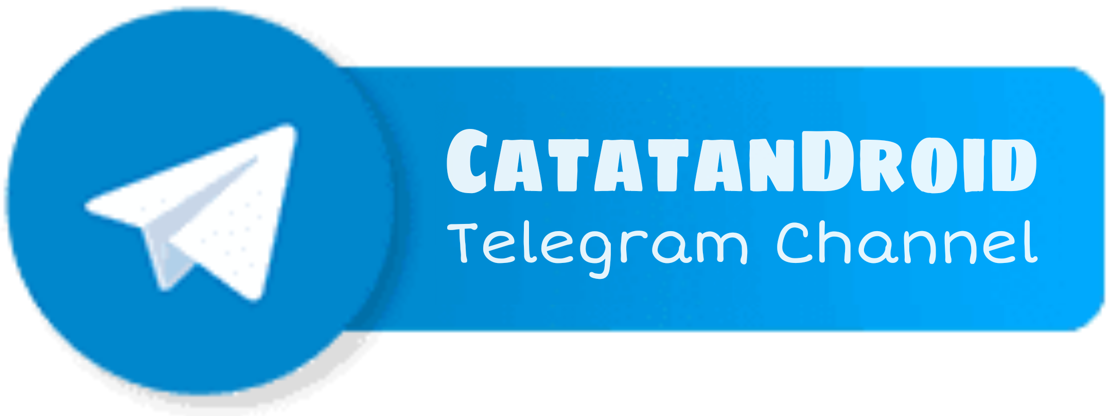 catatandroid telegram channel button