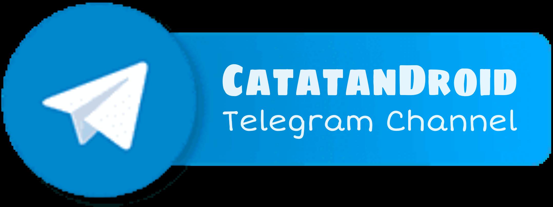 catatandroid telegram channel button