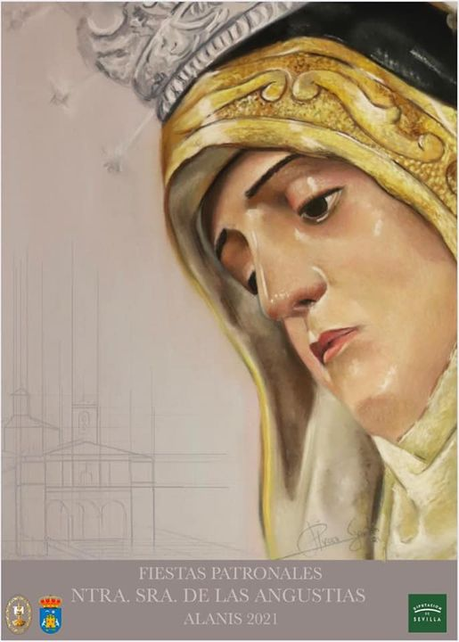 Cartel de la Festividad de Nuestra Señora de las Angustias de Alanís 2021