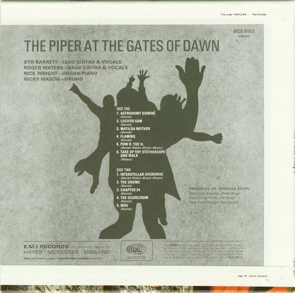 the vintage machine pink floyd the piper at the gates of dawn 1967. Black Bedroom Furniture Sets. Home Design Ideas