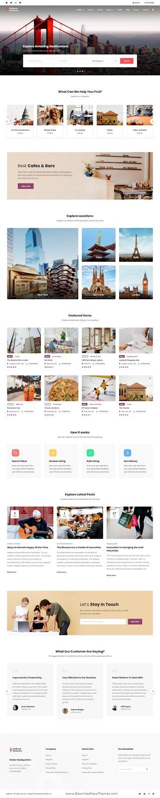 Directory Listing WordPress Theme
