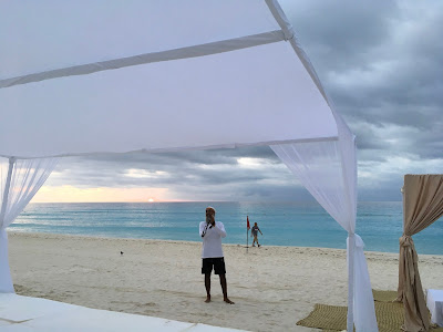 sikh beach wedding cancun