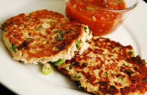 Grilled Tuna Patties