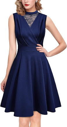 Blue Short Chiffon Bridesmaid Dresses