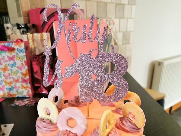Vegan Party Rings Birthday Cake
