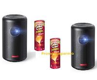 """Concorso Pringles """"Celebrate"""" : vinci 67 proiettori Anker Nebula Capsule ( valore 499€)"""