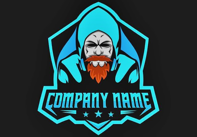 Logo keren untuk games pria tua