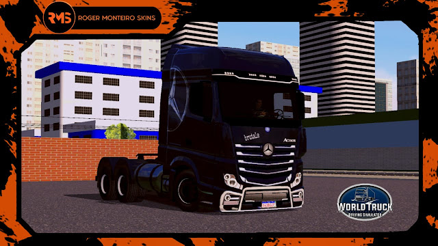 Skins Actros, Skins, Skins Wtds, Skins World Truck, Actros, New Actros