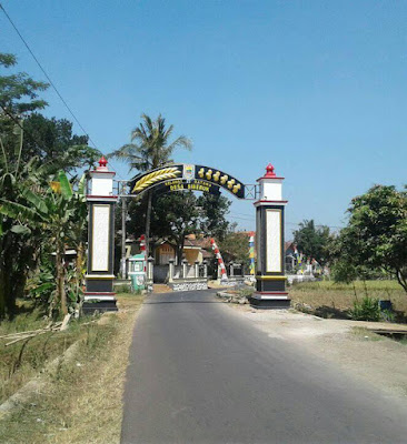 Siberuk, tulis, selamat datang, Desa Swasembada