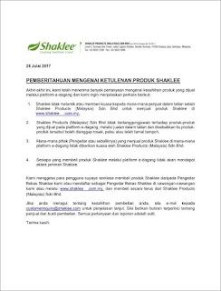 Produk Shaklee Dari Negara Mana dan Halal atau Haram Makan?