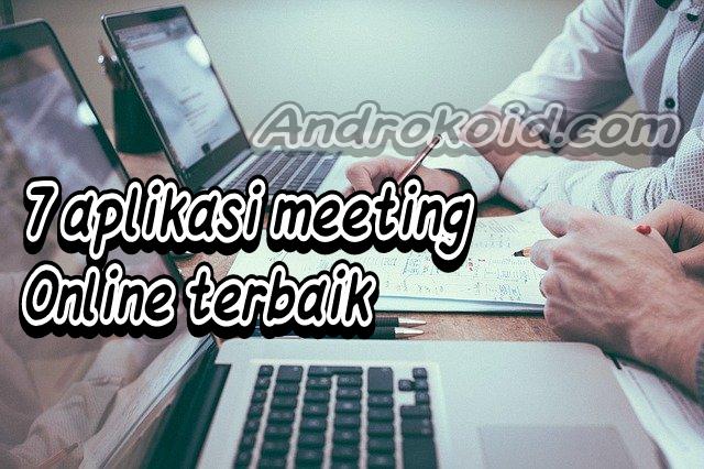 Rekomendasi aplikasi dan softwhere untuk meeting bersama