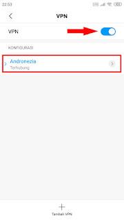 Cara Menggunakan VPN Bawaan Android
