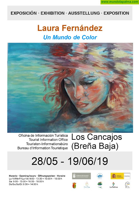 """Exposición de Laura Fernández: """"Un mundo de color"""""""