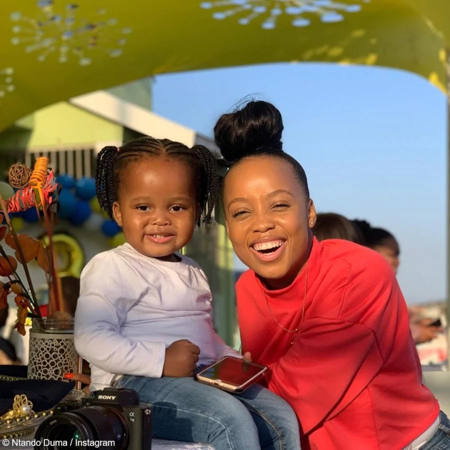 [WATCH] Ntando Duma Proves She Is The Best Mama To Sbahle!