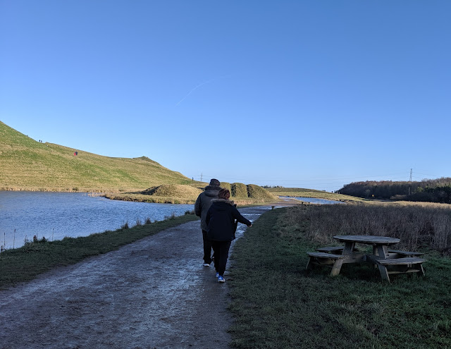 A Guide to Visiting Northumberlandia - open water