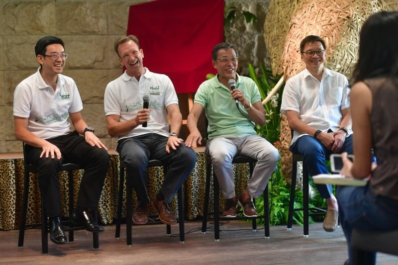 Mr Ho Kwon Ping, executive chairman of Banyan Tree