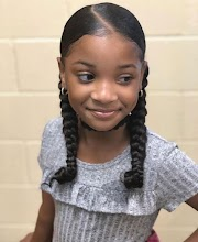 30 Easy Cute Hairstyles for School for Black Girls