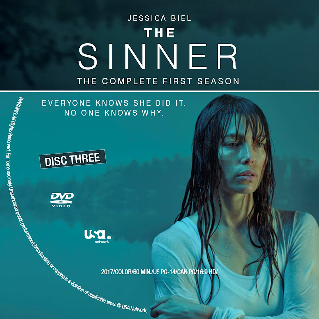 The Sinner Season 1 Disc 3 DVD Label