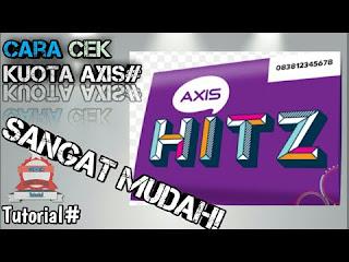 Axis saat ini berada dibawah naungan XL axiata Cara Cek Pulsa Axis Hitz Yang Mudah