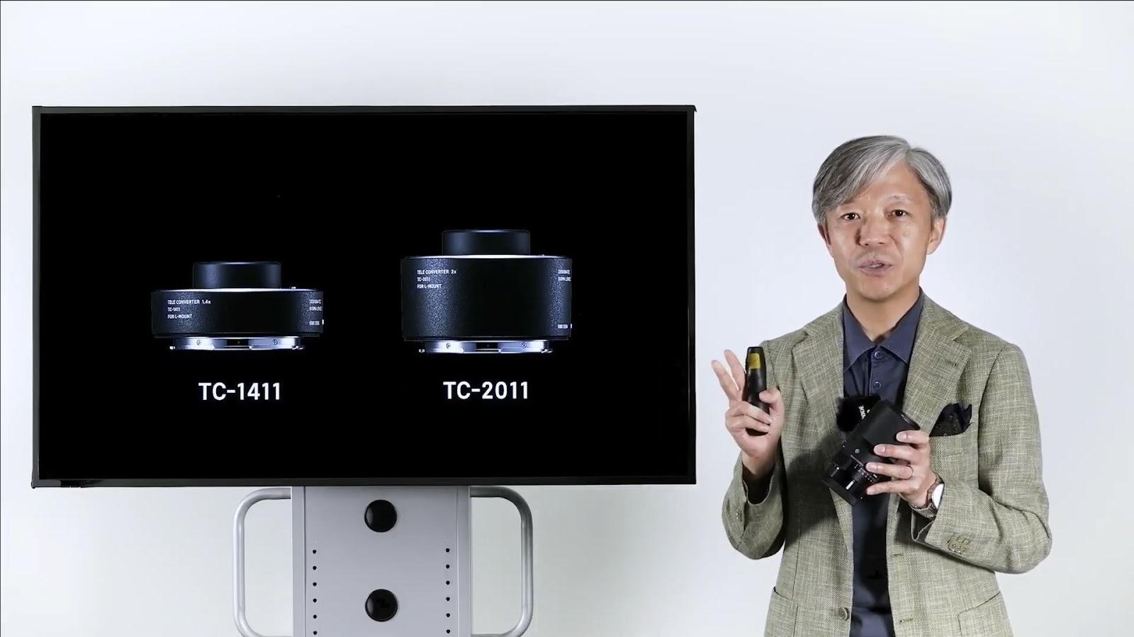 Два телеконвертера Sigma, с которыми может работать макрообъектив в Sigma 105mm f/2.8 DG DN Macro Art