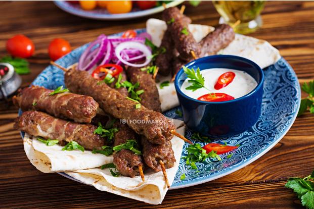kebab Kefta skewers